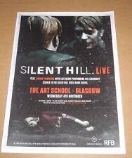 SILENT HILL LIVE feat Akira Yamaoka - rare tour concert / gig poster - nov 2015