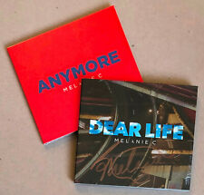 MELANIE C * ANYMORE / DEAR LIFE (SIGNED) * LIMITED EDITION CDs * SPORTY SPICE