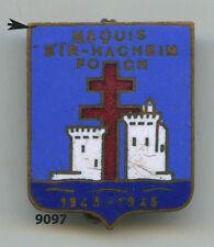Insigne résistance, Maquis BIR'HACHEIM & FOCH /  6  RI.
