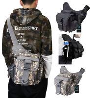 Mens Tactical Sling Chest Bag Assault Pack Messenger Shoulder Bag  Pack Backpack