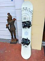 MORROW SNOWBOARDS RADIUM 163cm and Flow Trilogy Snowboard BindingSize-XL