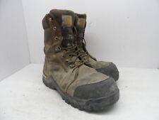Carhartt Men's Rugged Flex Composite Toe Waterproof CMR8939 Work Boot Brown 9.5W