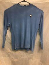 Nike Golf VNT Pebble Beach Sz XL Blue Pullover Sweater 100%Cotton