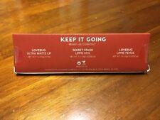 COLOURPOP Lip Trio - Keep It Going Lovebug & Secret Stash Lip Kit