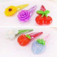 10x Trendy Kids Hair Pins Baby Infant Flower Clips Girls Hairpins Nice Gift New