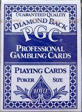 Set Card Diamond Back Poker Playing Cards Blue. New