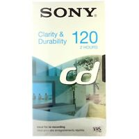 CINTA DE VÍDEO SONY CD 120 VHS PACK DE 3 X1 - 3 CINTAS DE 2 HORAS