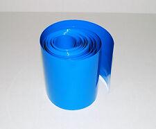 1M long Flat width 103mm,Diameter 65mm PVC HEAT SHRINK TUBING TUBE for18650 A015