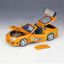 1:18 Fast&Furious Toyota Supra 1995 Brian's Car Diecast Model Vehicle Collection