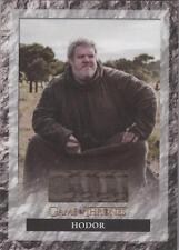 "Game of Thrones Season 6 - S6R2 ""Hodor's Shirt"" Relic Card"