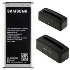 Samsung EB-BG800BBE Akku + Gratis Ladestation für Galaxy S5 mini (SM-G800F)