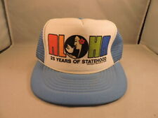 Authentic Vintage Snapback Mesh Trucker hat, Aloha Hawaii , GREAT condition!!