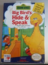 NEW Sesame Street  Big Bird's Hide & Speak NES Nintendo SHIPS FAST!