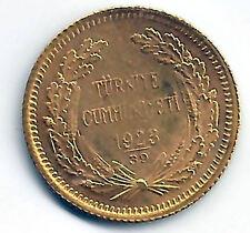 Turquie 50 Piastres 1923 ( 39 ) @ Or @@ Très Belle @@