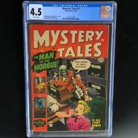 MYSTERY TALES #9 (Atlas 1953) 💥 CGC 4.5 OW 💥 Bill Everett PCH Zombie Cover!