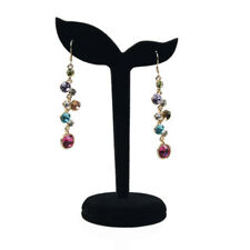 Black Velvet Earring Display Stand Props Stud Earrings Holder Rack Storage