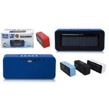 CASSA SPEAKER VIVAVOCE BLUETOOTH PORTATILE RICARICA SOLARE MICROSD USB FM AUX