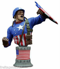 MARVEL ULTIMATE CAPTAIN AMERICA WW2 1945   resin-bust ltd 1945