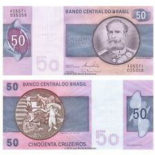 Brazil 50 Cruzeiros ND (1980) P-194c Banknotes UNC