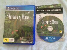 Secret of Mana (Playstation 4, 2018) PS4 AUS PAL