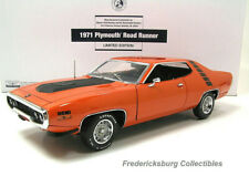 FRANKLIN MINT 1971 PLYMOUTH ROAD RUNNER 426  LTD EDITION OF 500 -EXC WITH PAPERS