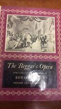 Gay: Beggar's Opera: musica Score