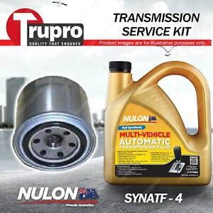 SYNATF Transmission Oil + Filter Kit for Mitsubishi Lancer CE Magna TE TF TH