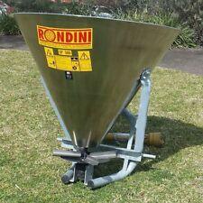 Fertiliser Fertilizer Seed Spreader Stainless Steel 480kg    -MADE IN ITALY-
