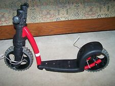 Ybike Kicker My First Scooter New Red Gray Sturdy Stable Child Baby Bike