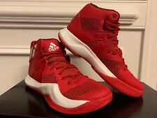 *NEW* Adidas Men's Crazy Bounce Basketball Shoe B72768 Red White 8