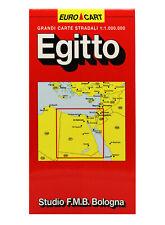 EGITTO CARTINA STRADALE 1:1.000 000 [MAPPA/CARTA/POSTER] STUDIO F.M.B. BOLOGNA