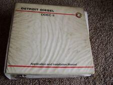Detroit Diesel DDEC 2 II Series 60 Shop Service Repair Installation Manual