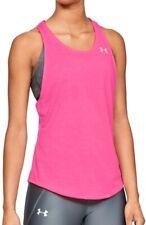 Under Armour Streaker 2.0 Racer Womens Running Vest Tank Top - Pink
