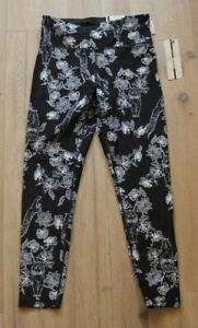 DKNY Leggings Trousers Size S 36 New Sport Black/White