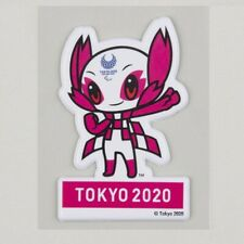 Tokyo 2020 Paralympic Games Mascot Someity Plump Sticker Olympic Official Goods