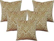 Beautiful Designer  Velvet Beige Cushion Cover Pillow Cover Luxury Skin Velvet