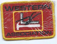 Western Association advertising patch 2-5/8 X 3-1/2