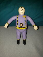 "1992  Bendable + Poseable  5 1/2""  figure Spare Tire  of The Crash Dummies"