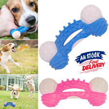 Indestructible Dog Toys Aggressive Chewer Dog Chew Toys  Rubber Bone Toy Tough