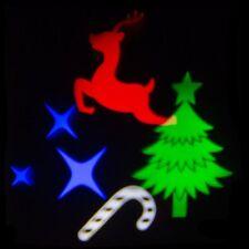 Bombilla LED Proyector de Imagenes Navidad 4W Multicolor E27
