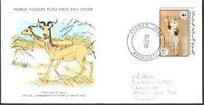 FDC, Mauritania, 1978 World Wildlife Fund, Dama Gazelle, First Day Cover