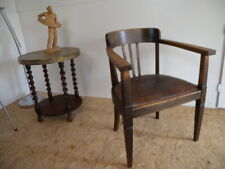 Art Deco art nouveau Armlehnstuhl Schreibtisch Stuhl Sessel Armchair Jugendstil