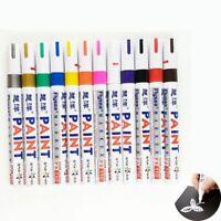 Paint Pen Marker Colours For Car Tyre Tire Metal Permanent Rubber Glass Sup E2B3
