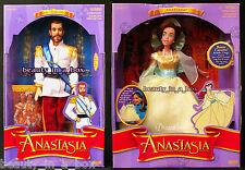 Anastasia Doll Dream Waltz Ball Gown & Czar Nicholas II Doll Galoob NRFB