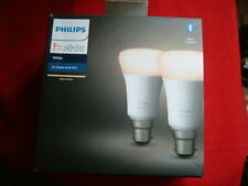 Philips Hue Warm White B22 Twin Pack A+ Rated BRAND NEW