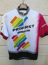 VINTAGE Maillot cycliste PROFIRST WHEELER cycling jersey shirt 5 XL