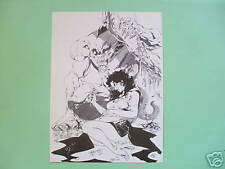 Affiche D'Falli 129 ex bruno graff N&S noir et blanc