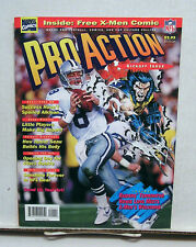 1994 Pro Action Magazine #1-Football Cards & X-Men Comic Inside (L6769-MH)