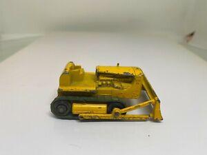 Matchbox Lesney 1-75 Series 18D Caterpillar Bulldozer 62mm