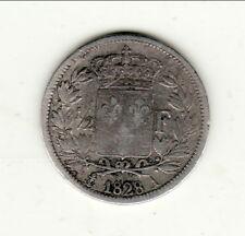 A SAISIR CHARLES X 1/2 FRANC 1828 A  correcte type